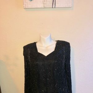Tops - Sequin formal blouse